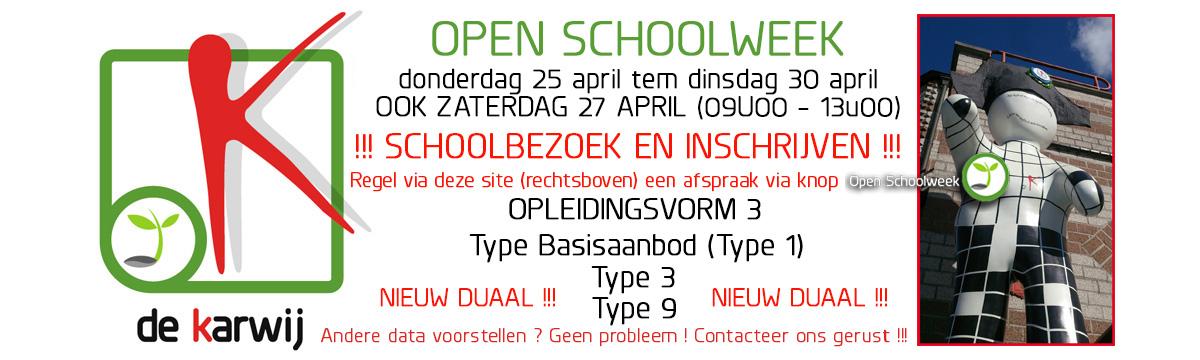 Open Schoolweek