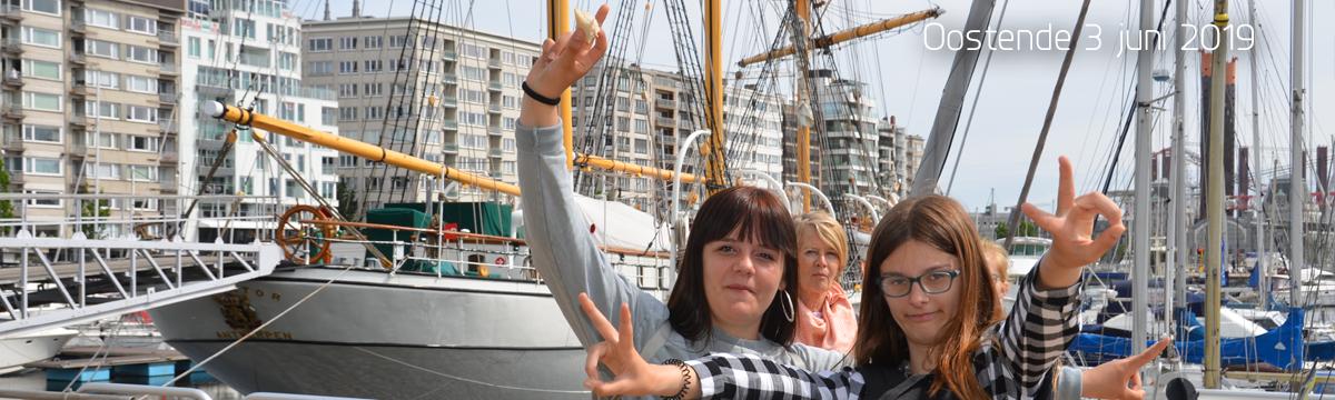 Uitstap 4e jaars Oostende 2019-06-03